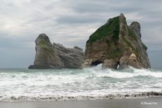 14 stunning landscapes you'll only find in New Zealand   Wharariki Beach, Golden Bay