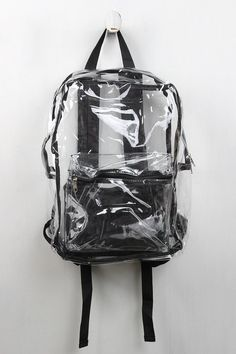 Nothing to Hide Clear Backpack