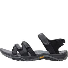 3712e6487c9f Karrimor Womens Strappy Webbing Sandals Black
