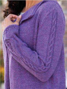 Free Knitting, Knitting Patterns, Crochet Patterns, Knit Cardigan, Knit Crochet, Pullover, Sweaters, How To Wear, Women