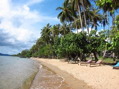 Rabbit Island Beach in Kep, Cambodia