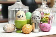paper eggs - Ihan Kaikki Kotona