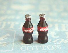 coke bottle earrings - jillicious charms and accessories