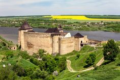 Ukraine. The Khotyn Fortress is a fortification complex located on the right bank of the Dniester River in Khotyn, Chernivtsi Oblast of western Ukraine.