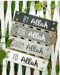 Ya Allah, thank you for every blessing!