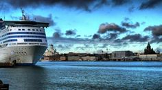 Helsinki, Finland - walked the city, busy market by the water, took cruise ship to Russia