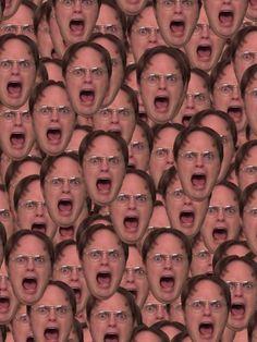 """""""Dwight Schrute - The Office (U.S.)"""" iPhone Case"""