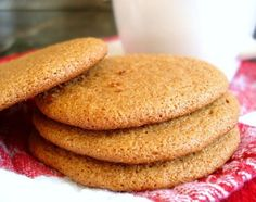 Gingersnap Cookies Recipe - Food.com