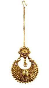 Tika Jewelry, Head Jewelry, Jewelry Design Earrings, India Jewelry, Gold Jewellery Design, Wedding Jewelry, Necklace Designs, Vanki Designs Jewellery, Stylish Jewelry