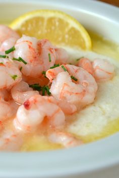 Classic Buttery Shrimp & Grits