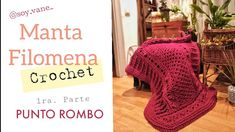 Manta Crochet, Blanket, Bed, Tutorial Crochet, Home, Youtube, Bedspreads, Bed Covers, Step By Step