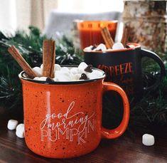 Good Morning Pumpkin Campfire Mug Fall Mug Fall Decor 15