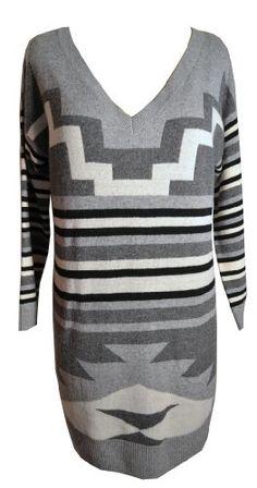 Joie Dress Tai Heather Gray Geometric Print Sweater Dress Size Large Joie,http://www.amazon.com/dp/B00BRLDN32/ref=cm_sw_r_pi_dp_sAaasb0Q27GVJQKE
