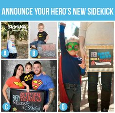 50 Creative Pregnancy Announcements. Aw maybe someday I'll be able to use some of these.