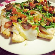 Gerookte heilbot met gebakken knolselder en tomatenvinaigrette - De Loopgekke…