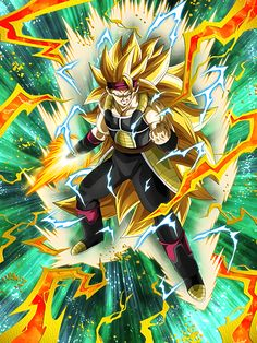 "[Awakening in the Time Rift] Super Saiyan 3 Bardock ""Fighting you should be a nice change of pace!"""