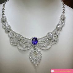 @mm_mucevhermagazin.  @saphiente #tanzanite #diamonds #necklaces #gerdanlik #elmas @adilmucevher #tanzanit#pirlanta #akasyaavm #stores