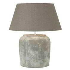 Leenbaker http://m.leenbakker.nl/m20/woonaccessoires/verlichting/tafellampen/voet-tafellamp-lara-grijs