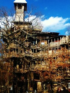 Would love to go back and walk through again! This place was so cool! World's Largest Treehouse (tennessee)