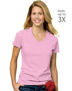 Hanes Relaxed Fit Women's ComfortSoft  V-neck T-Shirt  I love these T-Shirts!!! :0)