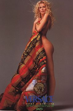 Claudia Schiffer for Versace by Richard Avedon (1994)