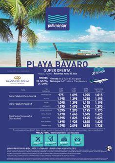 Super Oferta Playa Bávaro Cadena Palladium - http://zocotours.com/super-oferta-playa-bavaro-cadena-palladium/