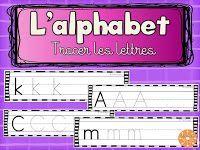 L'alphabet - tracer et apprendre!