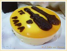Tarta Cremosa de Naranja y Chocolate Blanco
