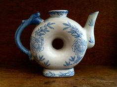 Vintage Chinese Blue and White Jug by EnglishShop on Etsy, $68.00