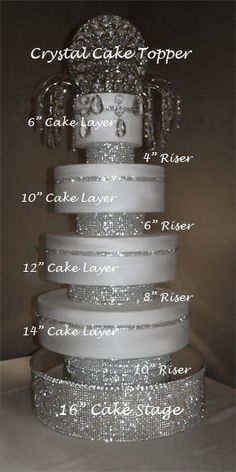http://decoratemywedding.com/IMAGES/crystal_cakes2/rhinestone_risers_example.jpg