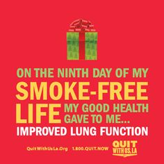 Improved lung function!