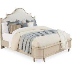 Moana Panel Bed