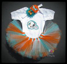 Dolphins Tutu Bodysuit and Headband Set by PeaceLoveandPaisley, $34.00