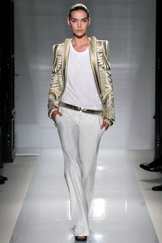 Balmain Spring 2012 Ready-to-Wear Collection Slideshow on Style.com