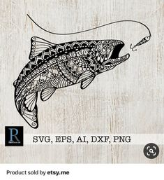 Tips on Buying Fishing Boats Trout Tattoo, Fish Tattoos, Fishing Boats, Fly Fishing, Crappie Fishing, Fishing Guide, Going Fishing, Fish Zentangle, Zentangles