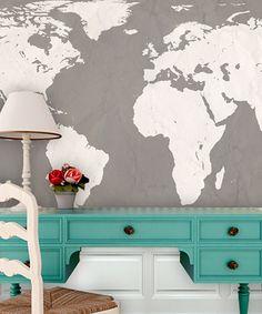 Cool map wallpaper.
