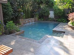 In Ground Pool Designs For Small Yards mini pools for small backyards fun and excitement for the whole family small inground Find This Pin And More On Backyard Pool Ideas And Designs