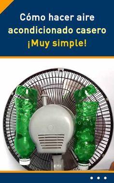 Como Hacer Aire Acondicionado Casero Muy Simple Ventilador Con