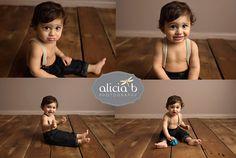 Alicia B Photography www.aliciabphotography.com baby milestone photos