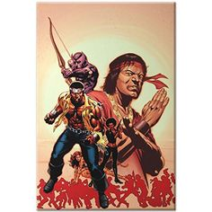 AVENGERS Original Giclee Marvel Artworks Comics Stan Lee LUKE CAGE HOUSE of M @ niftywarehouse.com #NiftyWarehouse #IronMan #Iron-man #Marvel #Avengers #TheAvengers #ComicBooks #Movies