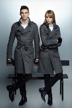 Spy VS Spy | Baptiste Giabiconi for Karl Lagerfeld F/W 2012-2013 via costinm.com
