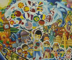 Merit Award Winner Raphael Alexandre Manguba from Philippines: Lions Clubs International 2012-2013 Peace Poster Contest
