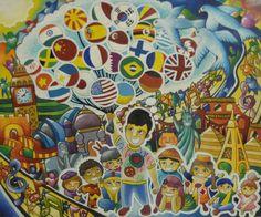 Merit Award Winner Raphael Alexandre Manguba from Philippines: Lions Clubs International 2012-2013 Peace Poster Contest