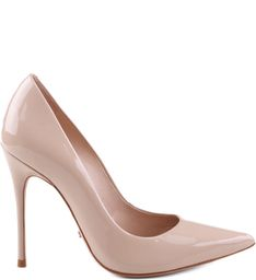 Want a pair of heels that will go with everything? Snag a pair of nude pumps! These patent-leather high heels are versatile and stylish at the same time. Stilettos, Stiletto Pumps, Pumps Heels, Nude Pumps, Strappy Heels, Red High Heels, Leather High Heels, Patent Leather, Gladiator Boots