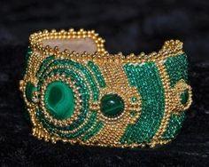 Celtic Spring cuff