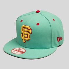 SF Giants New Era Snapback in Castro Teal Gorras 16248f3df7f