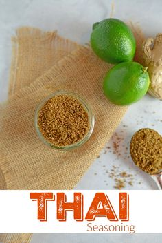 Thai Seasoning Recipe- this homemade thai spice blend is flavorful and zesty. Add an easy thai spice mix to coconut milk as a marinade or rub on steak or fish. Use in traditional thai recipes. Spice mix is great as a gift and stays fresh for months in an airtight container. www.savoryexperiments.com