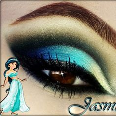 Would you try Jasmine inspired by Katelynn R? It goes with this week's Disney Bounding look perfectly!!