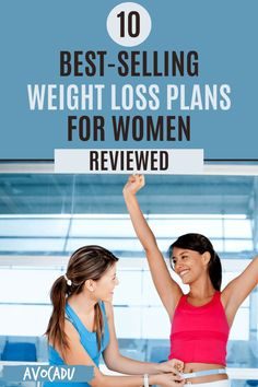 If you're ready to drop some pounds but aren't sure where to start, these weight loss programs rated and reviewed should be able to help you make a decision. #avocadu #weightloss #bestprograms