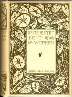 we. Band Ontwerp design cover Entwurf Einband: L.W.R.WENCKEBACH (1860 -1937) | Flickr - Photo Sharing!